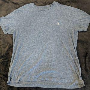 Light Blue Polo Pocket T